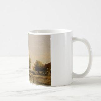 Townsfolk on a quay, Wijk Bij Duursrede Coffee Mug