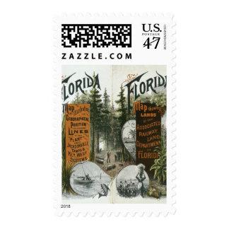 Township Map, Florida Postage