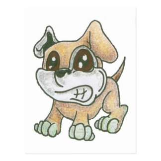 TOWT Dog Mascot Postcard