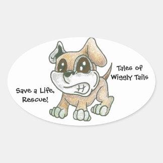 TOWT - Mascot Dog - Sticker - Rescue