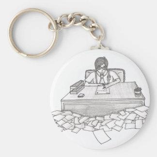 Towtow Basic Round Button Keychain