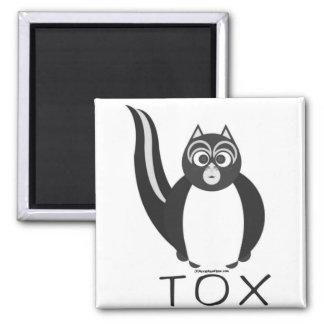 TOX PLAIN REFRIGERATOR MAGNET