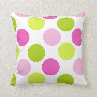 Toxi Girl Funky Dots Pillow