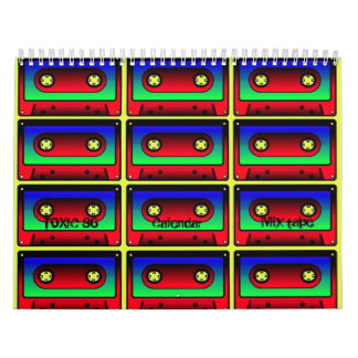 TOXIC 86 Calendar mix-tape 2011 Calendar