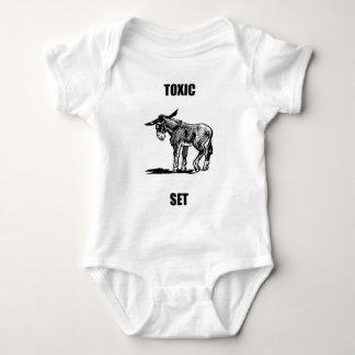 Toxic asset baby bodysuit