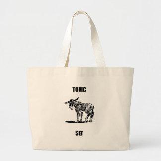 toxic asset canvas bag