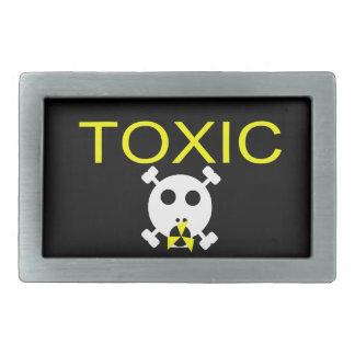 Toxic - Belt Buckle Rectangle -Skullnskin
