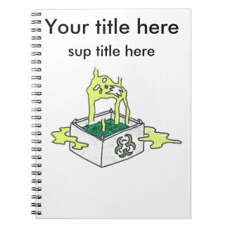 Toxic box spiral notebook