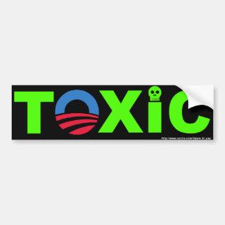 Toxic Bumper Sticker Car Bumper Sticker