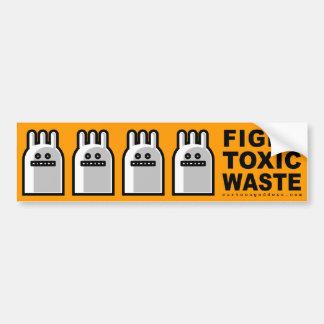 Toxic Bunny bumper sticker