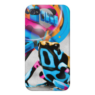 Toxic Camouflage iPhone 4/4S Cases