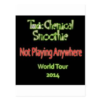 Toxic Chemical Smoothie 2014 World Tour Postcard