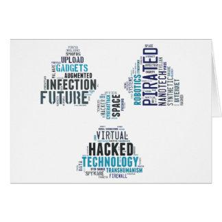Toxic Cyberpunk Hacker Card