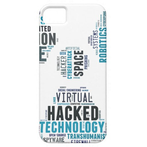 Toxic Cyberpunk Hacker iPhone 5 Cover