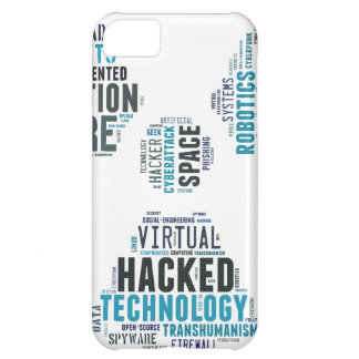 Toxic Cyberpunk Hacker iPhone 5C Cover