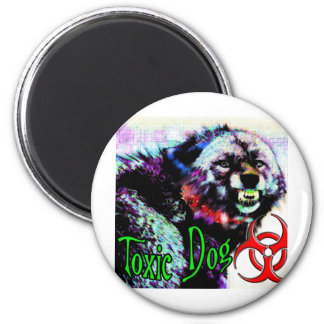 Toxic Dog  Big Bad Wolf Magnet