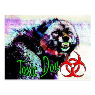 Toxic Dog  Big Bad Wolf Postcard