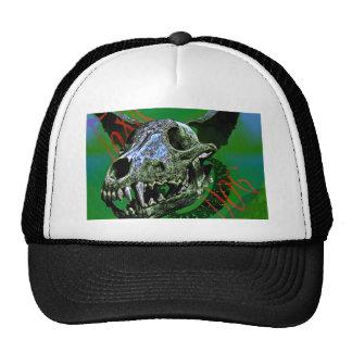 Toxic Dog Bones Mesh Hat