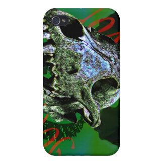"Toxic Dog ""Bones"" iPhone 4 Case"