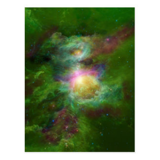 Toxic Galaxy Hip Space Art Post Cards