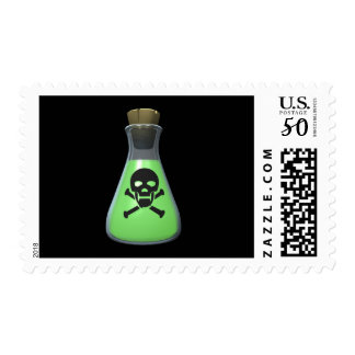 Toxic Green Potion Postage