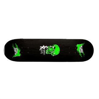 toxic green Splintered Reality board Skate Board