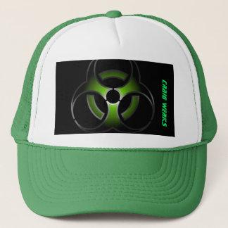 TOXIC GREEN TRUCKER HAT