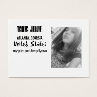 toxic jellie business card