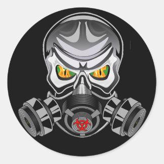 Toxic Logo sticker