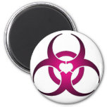Toxic Love 2 Inch Round Magnet