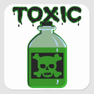 Toxic (Poison Bottle) Stickers
