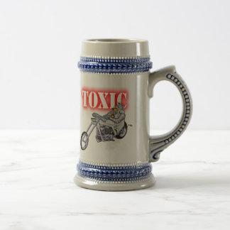 Toxic Robot Biker Beer Stein