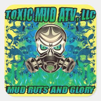 Toxic Shock Stickers