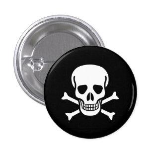 Toxic Skull Button