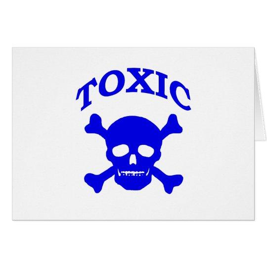Toxic Skull Card