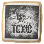 Toxic Skull Cookie