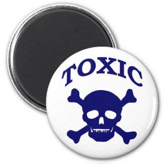 Toxic Skull Magnet