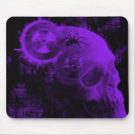 toxic skull mouse pads