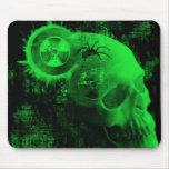 toxic skull mousepads