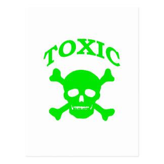 Toxic Skull Postcards