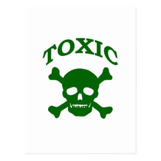 Toxic Skull Post Card