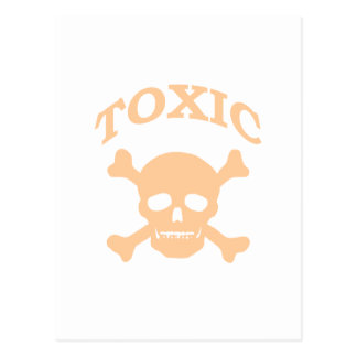 Toxic Skull Post Cards