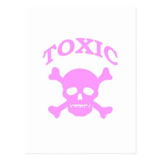 Toxic Skull Postcard