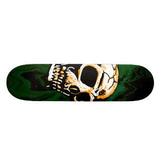 Toxic Skull Skateboard