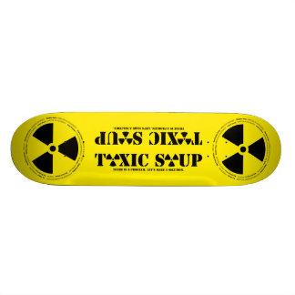 TOXIC SOUP 001 NOT FOR SALE SKATEBOARD DECK