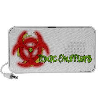 Toxic speakers
