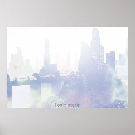 Toxic storm poster