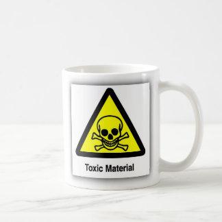 TOXIC SYMBOL MAT CLASSIC WHITE COFFEE MUG