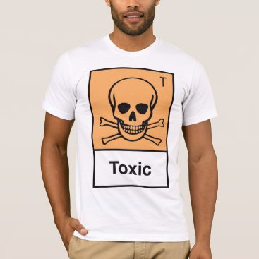 popculture_t_shirts Toxic Symbol T-Shirt