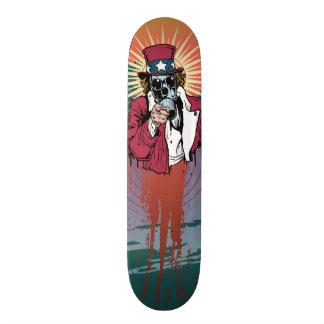 Toxic Uncle Sam Skateboard Deck